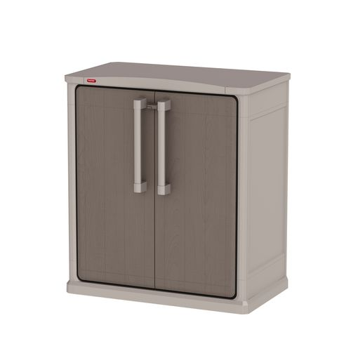 Armoire de rangement Keter Optima Outdoor Base PVC gris 80,5x47,3cm