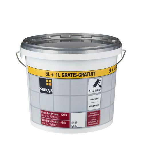 Sencys primer Rapid Dry grijs 6L