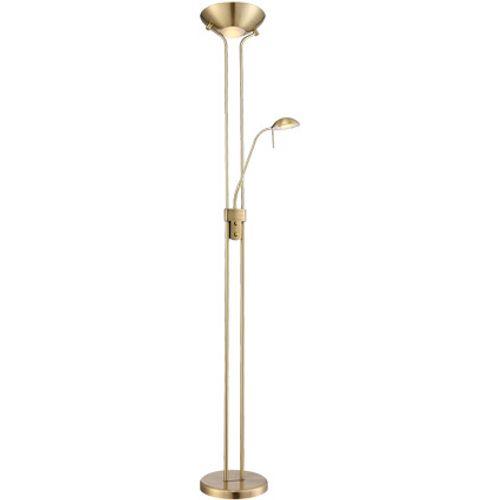Globo vloerlamp Leonas 2-lichts