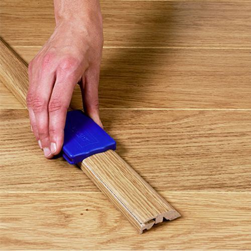 Quick-Step Incizo-profiel 'Impressive' grijsbeige eik 4,8 cm