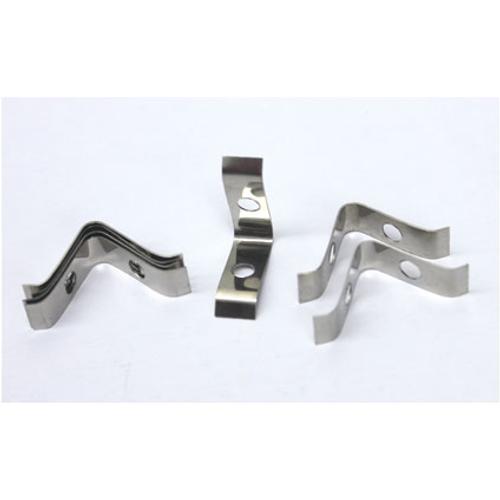 Clips de verre ACD 'V' aluminium – 20 pcs