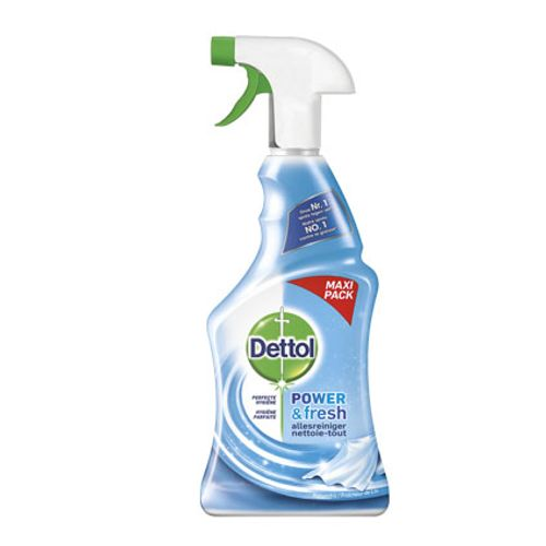 Nettoyant spray multi-usages Dettol 'Power & Fresh' parfum fraîcheur de coton 750 ml