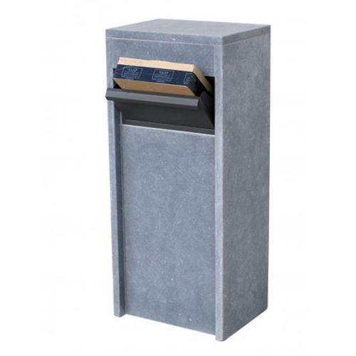 VASP brievenbus op voet 'Alicante parcel' Belgische arduin