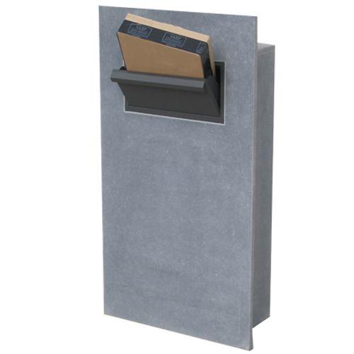 VASP inbouwbare brievenbus 'Leon parcel' Belgische arduin