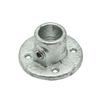 Angle de connection Flexfit métal galvanisé diam. 40 mm