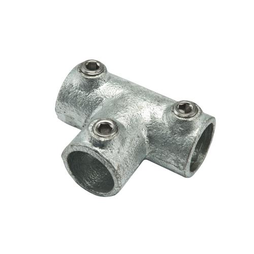 Connecteur T Flexfit métal diam. 40 mm