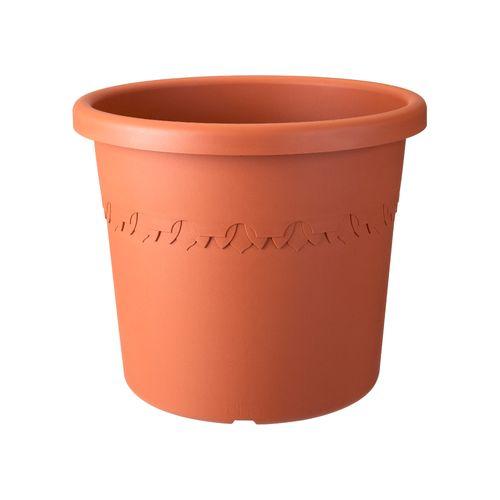 Pot sur roues Elho 'algarve cilindro' terra 48 cm