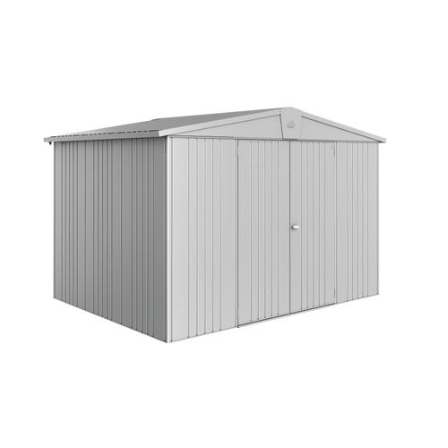 Biohort tuinhuis 'Europa 5' staal zilver metallic 6,53 m²