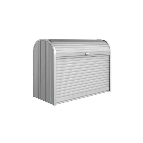 Biohort opbergbox Storemax 160 zilver 78x163cm
