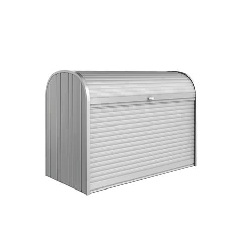 Biohort opbergbox Storemax 190 zilver metallic 190x136cm