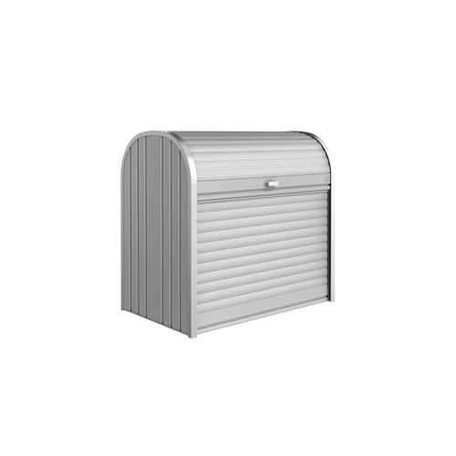 Biohort opbergbox Storemax 120 zilver metallic 117x109cm