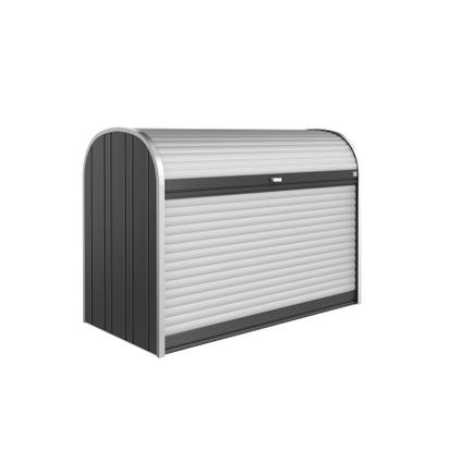 Biohort opbergbox Storemax 190 donkergrijs metallic 190x136cm
