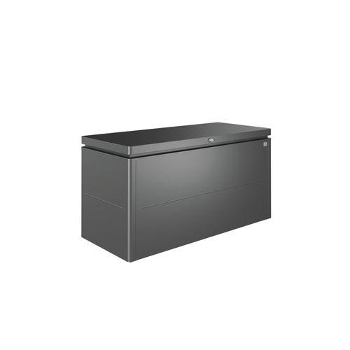 Coffre de Jardin Biohort LoungeBox 160 gris fonce 70x160cm