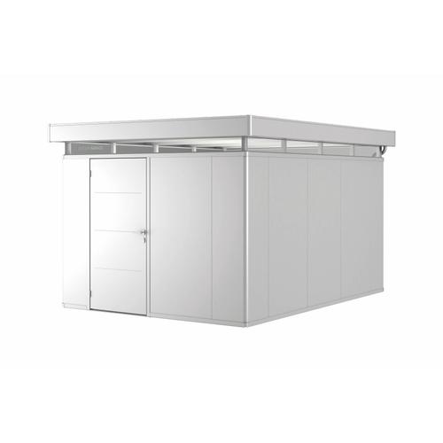 Biohort tuinhuis 'CasaNova 3x4' links zilver metallic 11,45 m²