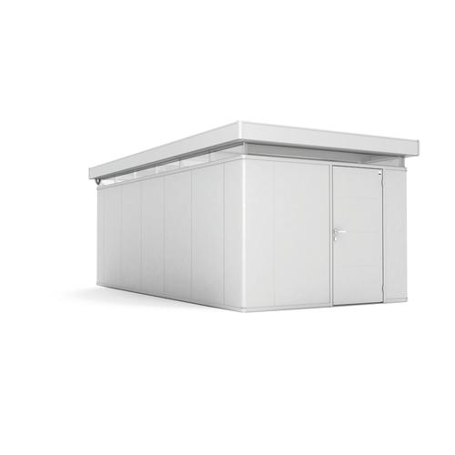 Biohort tuinhuis 'CasaNova 3x6' rechts zilver metallic 17,29 m²