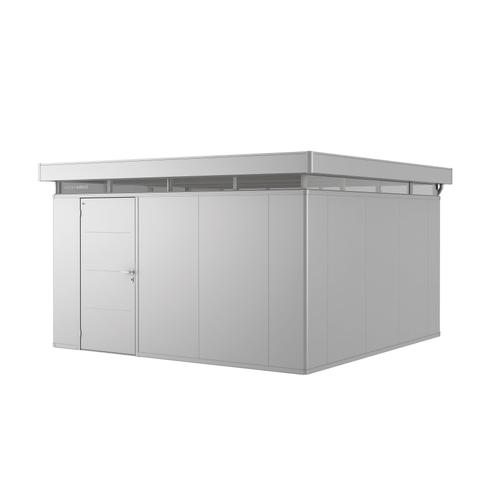 Biohort tuinhuis 'CasaNova 4x4' links zilver metallic 15,37 m²