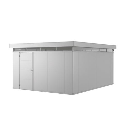 Biohort tuinhuis 'CasaNova 4x5' links zilver metallic 19,29 m²