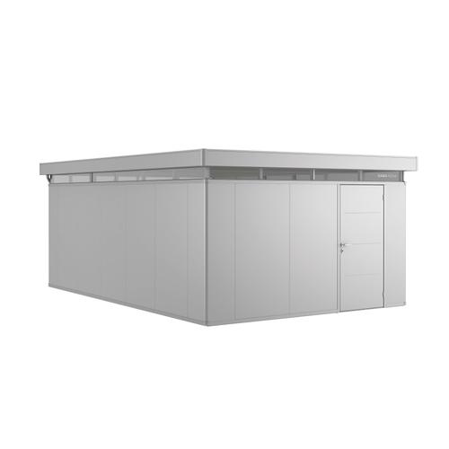 Biohort tuinhuis 'CasaNova 4x6' rechts zilver metallic 23,21 m²