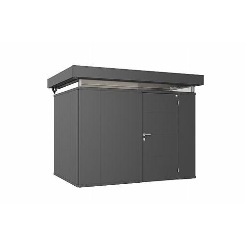 Biohort CasaNova 300x200cm donkergrijs metallic deur rechts