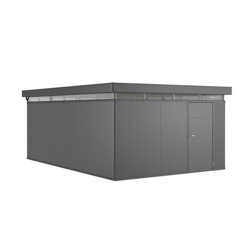 Biohort CasaNova 400x600cm donkergrijs metallic deur rechts