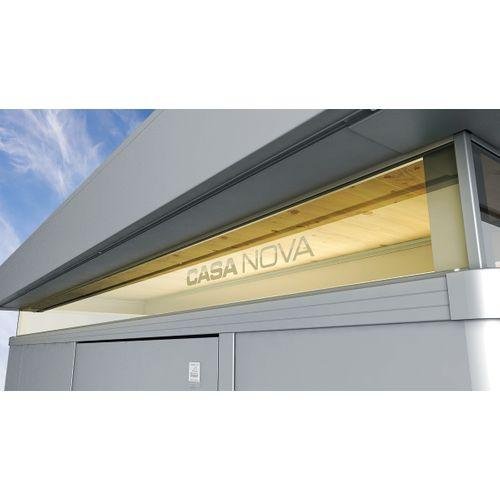 Biohort dubbel kijkvenster CasaNova 4x4 acryl transparant 400x400x4cm