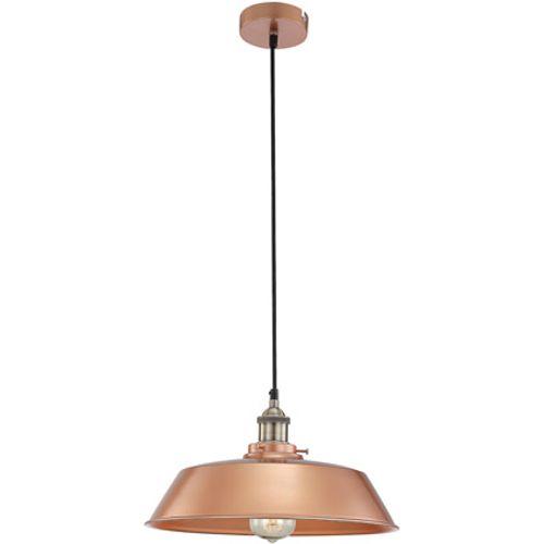 Globo hanglamp knud ø36cm alu koper 1x60w