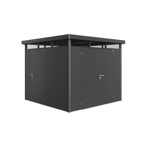 Biohort extra deur HighLine, Panorama, AvantGarde donker grijs metallic 80x185,5cm
