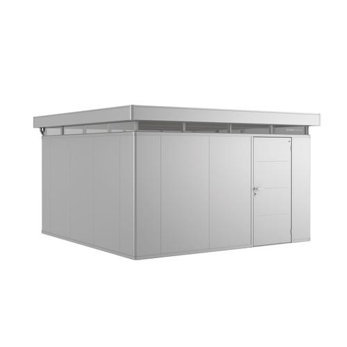 Biohort tuinhuis 'CasaNova 4x4' rechts zilver metallic 15,37 m²