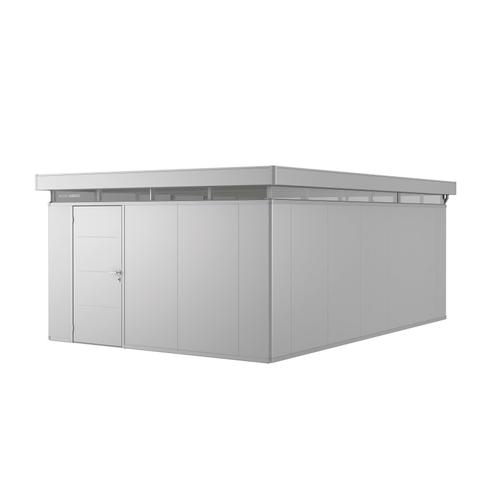 Biohort tuinhuis 'CasaNova 4x6' links zilver metallic 23,21 m²