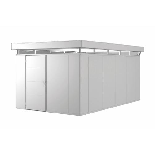 Biohort tuinhuis 'CasaNova 3x5' links zilver metallic 14,37 m²