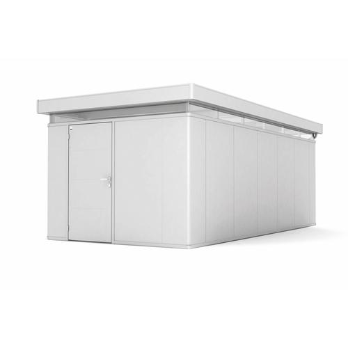 Biohort tuinhuis 'CasaNova 3x6' links zilver metallic 17,29 m²