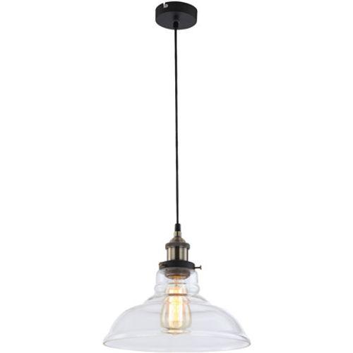 Globo hanglamp knud ø28cm alu helder 1x60w