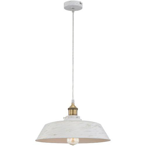 Globo hanglamp knud ø36cm alu wit 1x60w