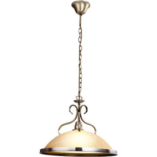Globo hanglamp sassari antiek brons 1-lichts 1x60w