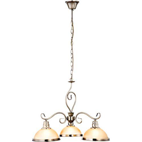 Globo hanglamp sassari antiek brons 3-lichts 3x60w