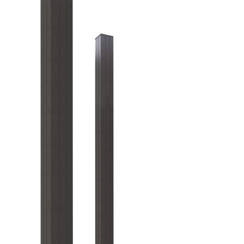 Elephant tuinpaal 'Modular' antraciet 270 x 6,8 x 6,8 cm