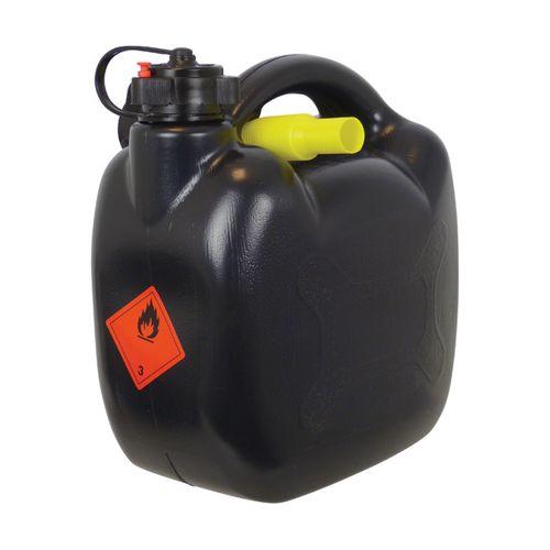 Carpoint benzinekan 5Ltr Zwart UN/BAM-Keur