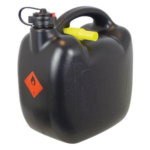 Carpoint benzinekan 10Ltr Zwart UN/BAM-Keur
