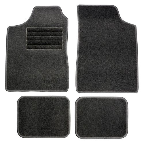 Set tapis de sol Carpoint 'Graphite'
