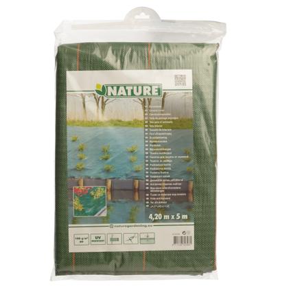 Nature gronddoek groen 4,2 x 5 m