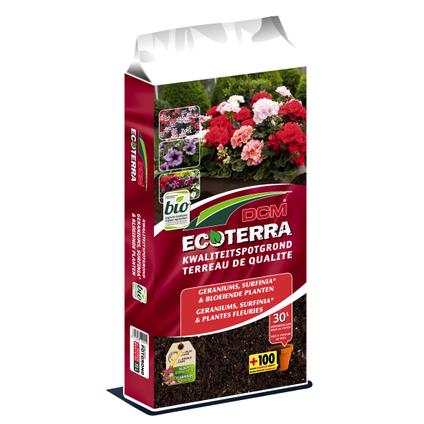 Terreau plantes fleuries DCM Ecoterra 30L