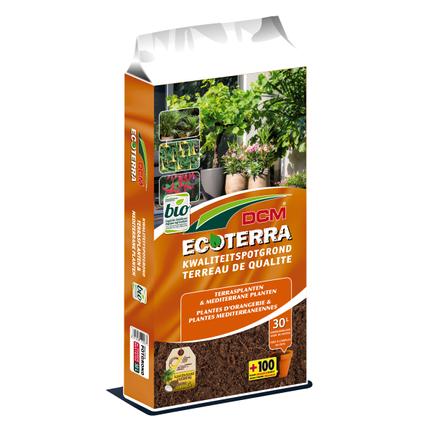 DCM potgrond terrasplanten & mediterrane planten Ecoterra 30L