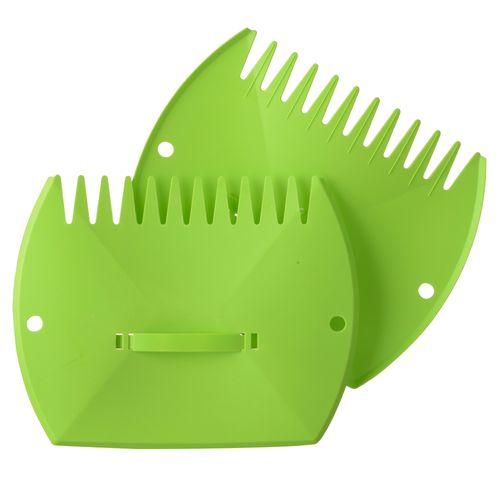 Nature bladschep groen 37 cm - 2 stuks