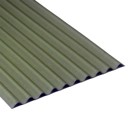 Onduline plaat 'Easyline' groen 76 x 100 cm