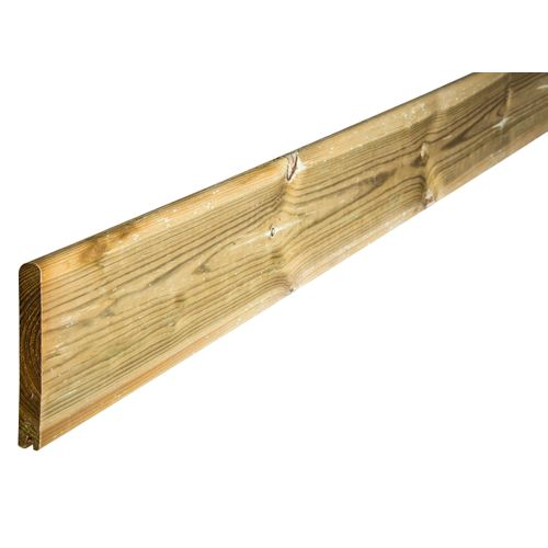 Solid tuinplank hout 200 x 14,5 x 2 cm