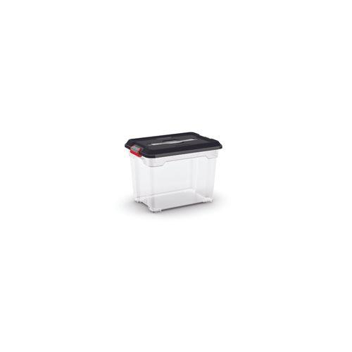 Kis opbergdoos 'Moover Box S' zwart 18L
