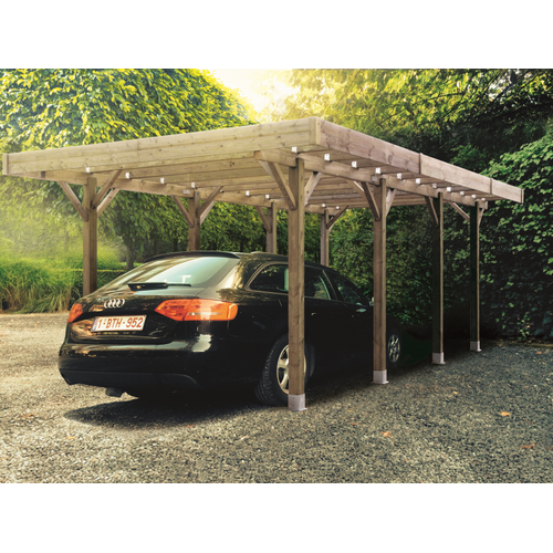 Carport Solid 'Basis' hout 3 x 5 m