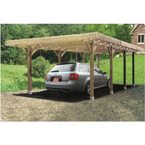 Carport Solid 'Basis' hout 6 x 5 m