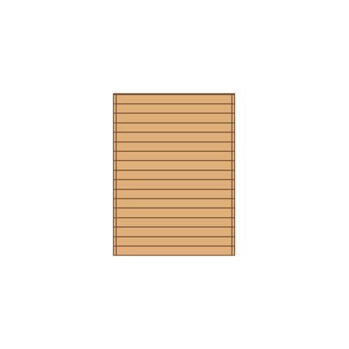 Solid carport zijwand S7729 180x240cm