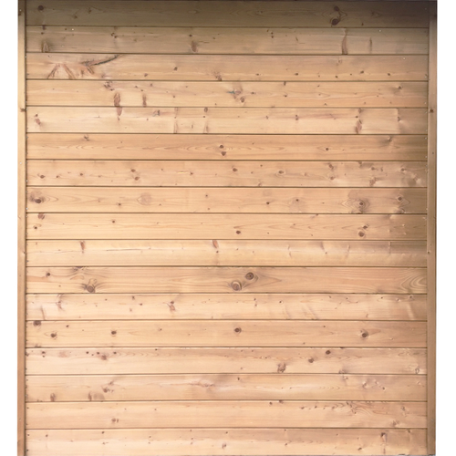 Solid zijwand 'S7729' hout 180 x 240 cm